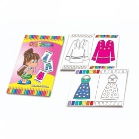 "Книжка-раскраска А5 ""Одежда"""