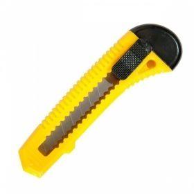 Нож канцелярский inФОРМАТ 18 мм желтый