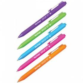 """Ручка шариковая автоматическая Berlingo """"Starlight RT"""" синяя 0,7 мм"""