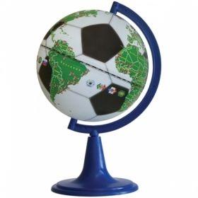 """Глобус """"Футбольный мяч"""", 15 см, на круглой подставке"""