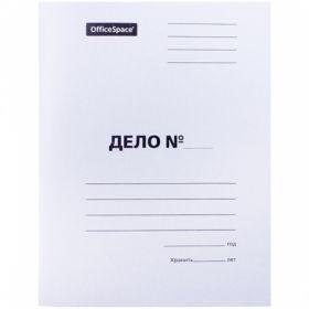 """Скоросшиватель OfficeSpace """"Дело"""", картон мелованный, 320 г/м2"""