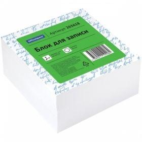 Блок для записи OfficeSpace 8х8х4 см белый