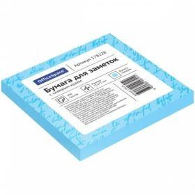 Самоклеящийся блок OfficeSpace 75х75 мм, 100 листов, в ассортименте
