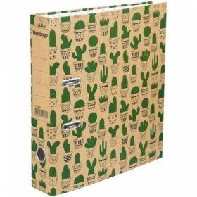 "Папка-регистратор Berlingo ""Cactus"", 70 мм, картон"