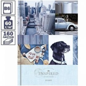 """Ежедневник недатированный 7БЦ OfficeSpace """"Стиль. Mixed collection"""" формата B6, 160 листов"""