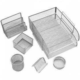 """Настольный набор из металла Berlingo """"Steel&Style"""", 7 предметов, в ассортименте"""
