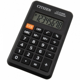 Калькулятор карманный Citizen LC-310NR, 8 разрядов