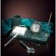 Набор настольный Delucci 4 предмета, зеленый мрамор
