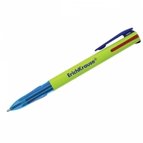 """Ручка шариковая автоматическая Erich Krause """"4 Color"""" 4 цвета, 0,7 мм"""