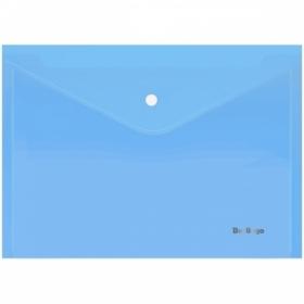 """Папка-конверт А4 на кнопке Berlingo """"Starlight"""", 180 мкм, в ассортименте"""