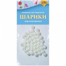 "Материал декоративный Апплика ""Шарики"" перламутр"