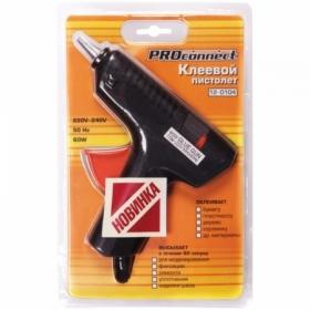 Клеевой пистолет Proconnect 60 Вт, для стержня 11 мм