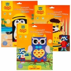 Наборы для творчества Мульти-Пульти - Игрушка из бумажного пакета в ассортименте