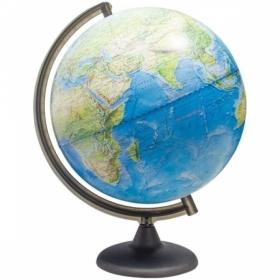 Глобус ландшафтный Глобусный мир, 32 см, на круглой подставке