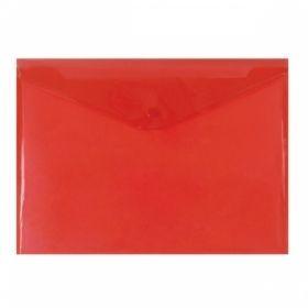 Папка-конверт A4 с кнопкой inФОРМАТ, 180мкм, в ассортименте