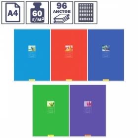 """Тетрадь А4 в клетку на скрепке ArtSpace """"Моноколор. Office style"""", 96 листов"""