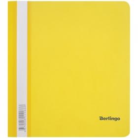 Папка-скоросшиватель А5 Berlingo 180 мкм с прозрачным верхом в ассортименте