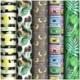 """Упаковочная бумага глянцевая ArtSpace """"Summer mood"""" 70х100 см, 5 дизайнов"""