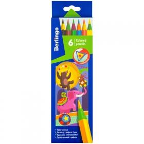 """Набор цветных карандашей 6 цветов Berlingo """"Цирк"""""""