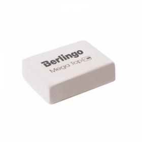 """Ластик Berlingo """"Mega Top"""" прямоугольный 32х18х8 мм, натуральный каучук"""