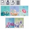 """Тетрадь А5 в клетку на скрепке ArtSpace """"Цветы. Идеальное сочетание"""", 48 листов"""