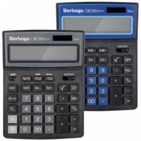"""Калькулятор настольный Berlingo """"City Style"""", 12 разрядов, в ассортименте"""