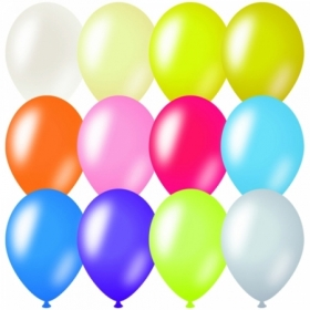 Воздушные шары ArtSpace М9/23см, металлик, 100 шт