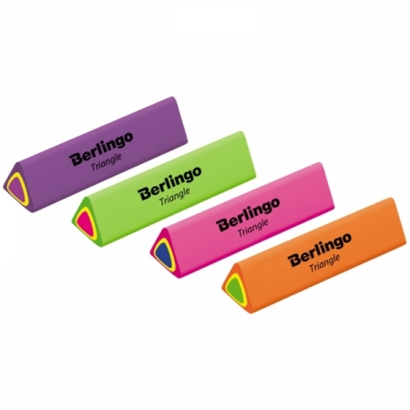 "Ластик Berlingo ""Triangle"", термопластичная резина, 44х15х15 мм"