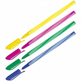 """Ручка шариковая OfficeSpace """"Spiny"""" синяя 0,7 мм, ассорти"""