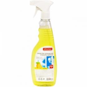 "Средство для мытья стекол и зеркал OfficeClean ""Лимон"", 500 мл"