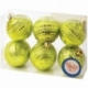 """Набор пластиковых шаров """"Сатурн"""" 6 шт, 60 мм, в ассортименте"""