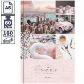 """Ежедневник недатированный A5 7БЦ OfficeSpace """"Стиль. Mixed collection"""", 160 листов"""