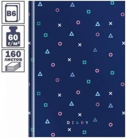 """Ежедневник недатированный В6 7БЦ OfficeSpace """"Узоры. Pattern trend"""", 160 листов"""