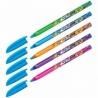 """Ручка шариковая Berlingo """"Triangle 100T Elements"""" синяя 0,7 мм"""