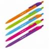 """Ручка шариковая автоматическая Berlingo """"Triangle Fuze RT"""" синяя, 0.7 мм"""