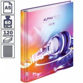 """Тетрадь на кольцах А5 7БЦ ArtSpace """"Увлечения. Neon. Alphatech"""", 120 листов"""