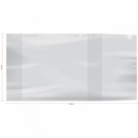Обложка ArtSpace для учебников универсальная 233х450 мм, 70 мкм