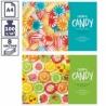 """Альбом для рисования А4 ArtSpace """"Стиль. Colorful candy"""" на скрепке, 8 листов"""