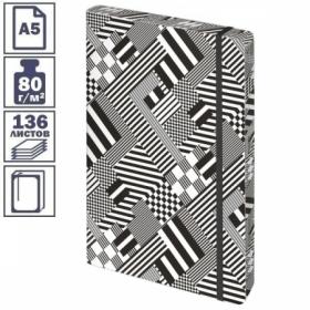 """Ежедневник недатированный A5 Greenwich Line """"Urban. Pattern"""", 136 листов, цветной срез"""