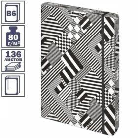 """Ежедневник недатированный B6 Greenwich Line """"Urban. Pattern"""", 136 листов, цветной срез"""