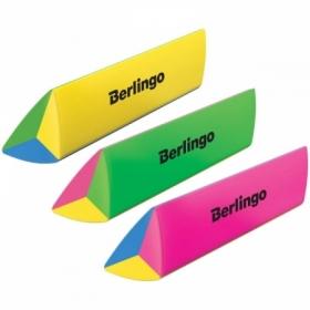 """Ластик Berlingo """"Supertwist"""" треугольный, термопластичная резина, 80х15х15 мм"""