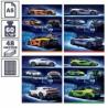 """Тетрадь А5 в клетку на скрепке ArtSpace """"Авто. Futuristic car"""", 48 листов"""