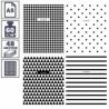 """Тетрадь А5 в клетку на скрепке ArtSpace """"Узоры. BW Pattern"""", 48 листов"""