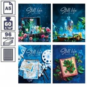 """Тетрадь А5 в клетку на скрепке ArtSpace """"Стиль. Still life"""", 96 листов"""